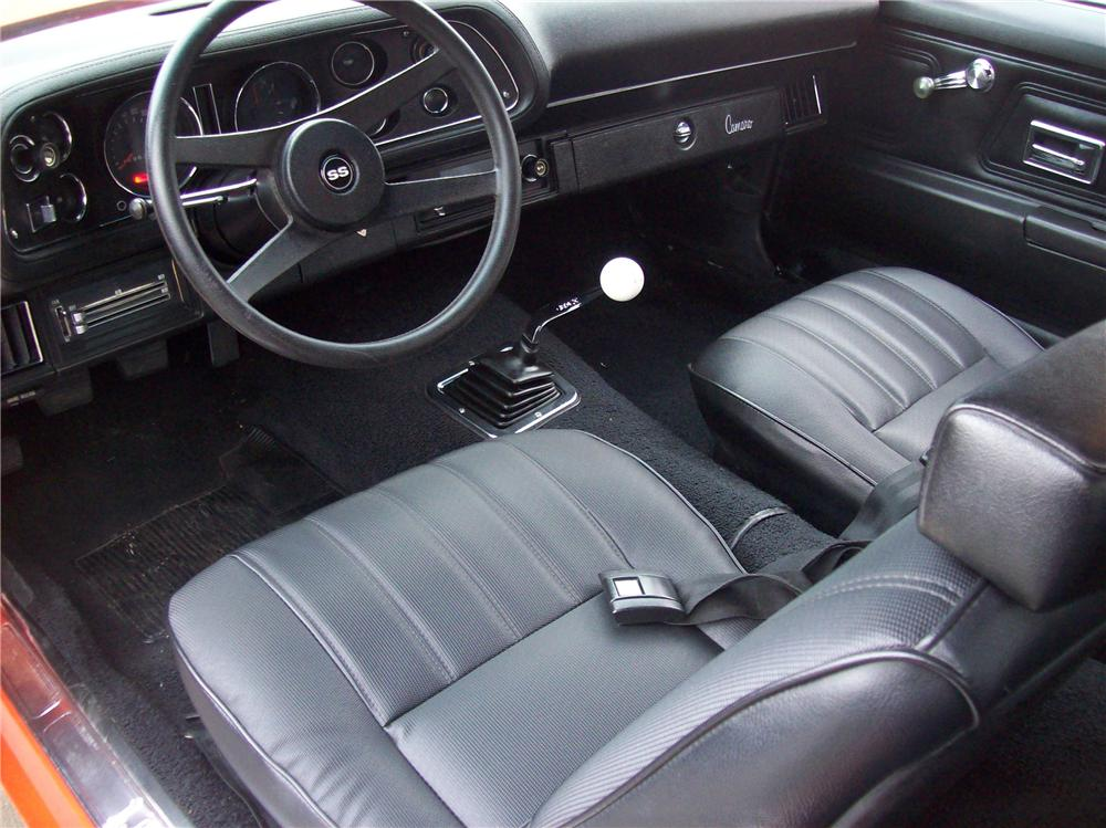 1970 CHEVROLET CAMARO 2 DOOR COUPE - Interior - 138768