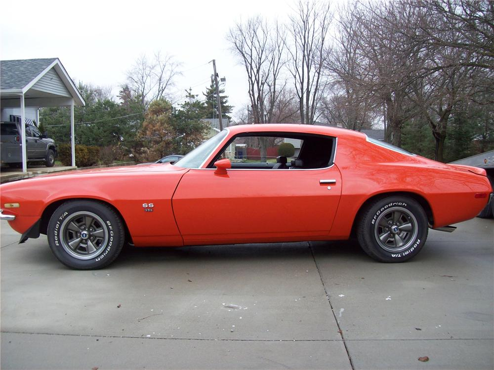 1970 Chevrolet Camaro 2 Door Coupe 138768