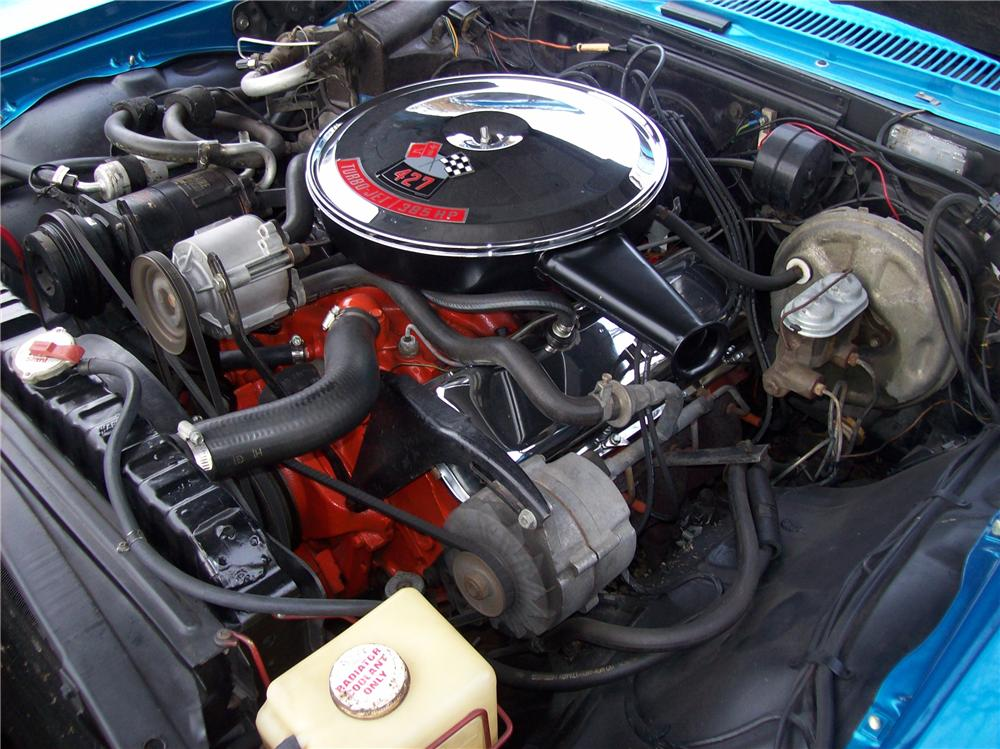 1967 CHEVROLET IMPALA SS 2 DOOR COUPE - Engine - 138769