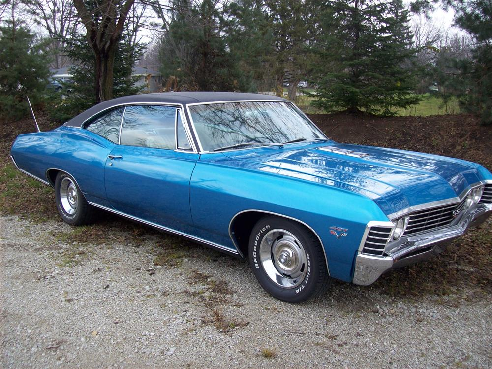 1967 CHEVROLET IMPALA SS 2 DOOR COUPE - Front 3/4 - 138769
