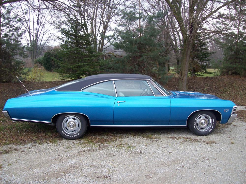 1967 CHEVROLET IMPALA SS 2 DOOR COUPE - Side Profile - 138769