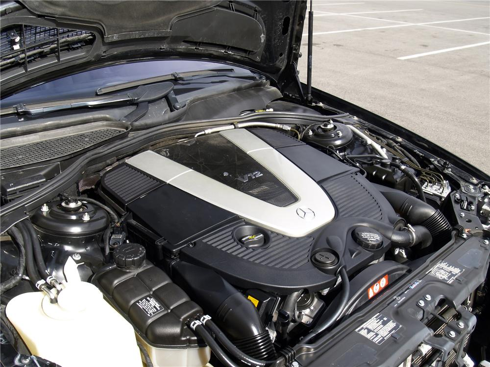 2005 MERCEDES-BENZ CL600 2 DOOR COUPE - Engine - 138771