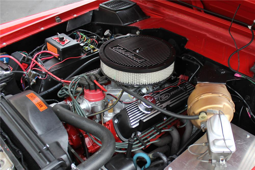 1971 FORD BRONCO CUSTOM SUV - Engine - 138821