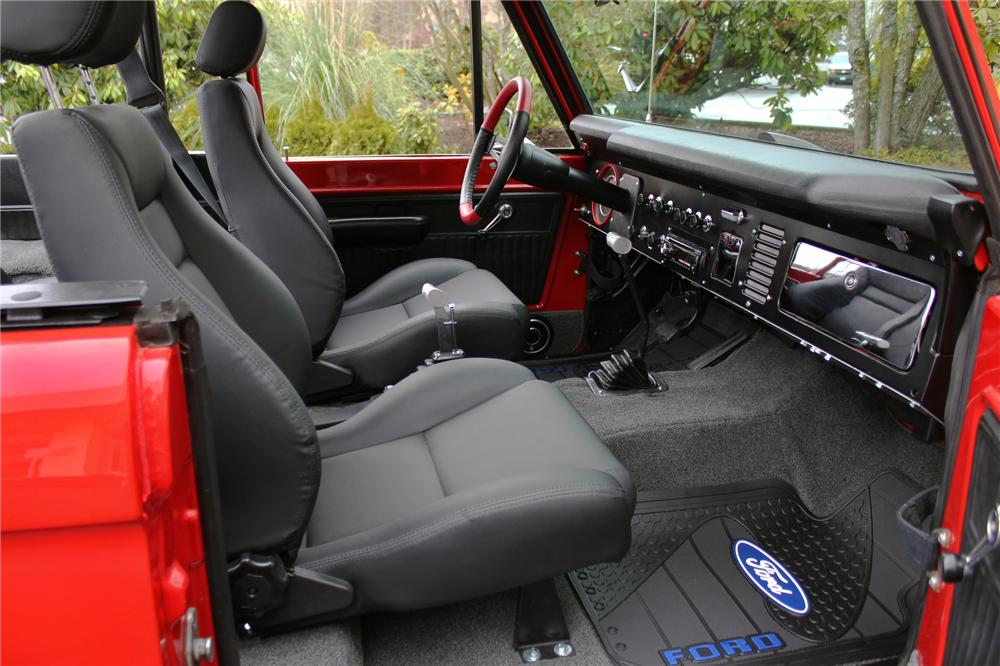 1971 FORD BRONCO CUSTOM SUV - Interior - 138821