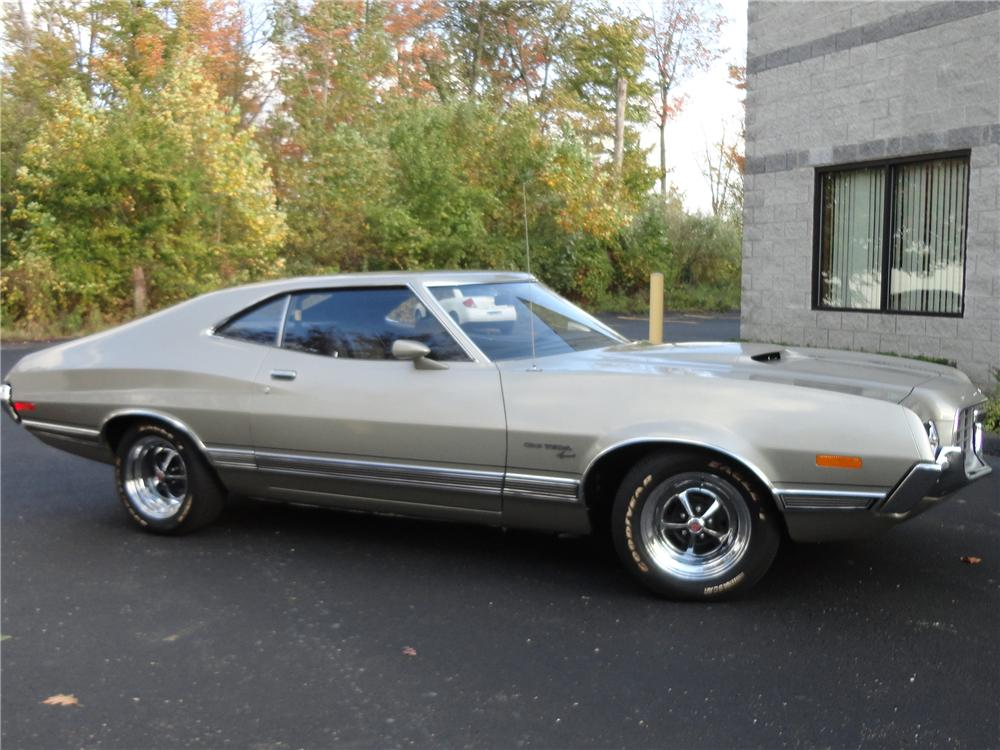 1972 ford gran torino custom fastback side profile 138824 - Ford Gran Torino Fastback