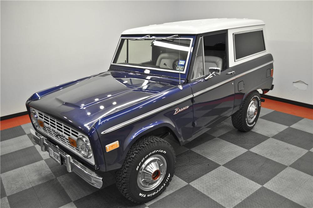 1977 FORD BRONCO 2 DOOR HARDTOP - Front 3/4 - 138829