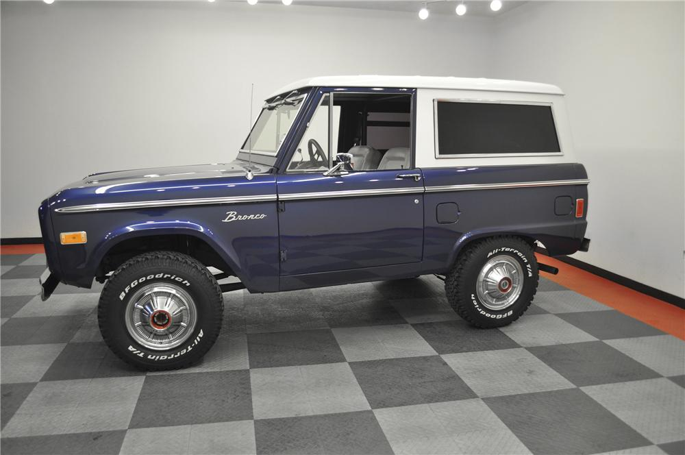1977 FORD BRONCO 2 DOOR HARDTOP - Side Profile - 138829