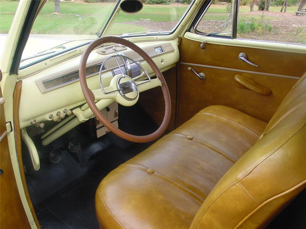 1941 FORD SUPER DELUXE CONVERTIBLE - Interior - 138890