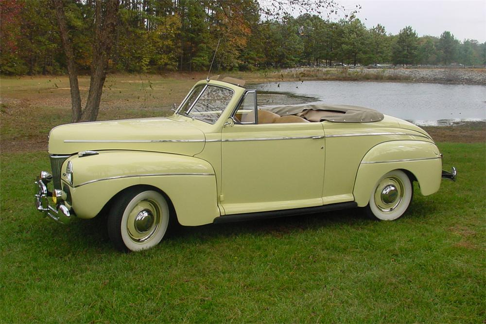 1941 FORD SUPER DELUXE CONVERTIBLE - Side Profile - 138890