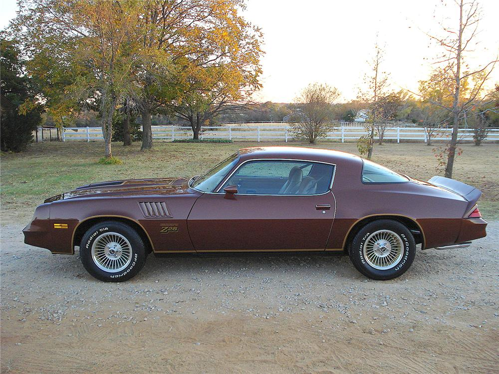1978 Chevrolet Camaro 2 Door Coupe 138927