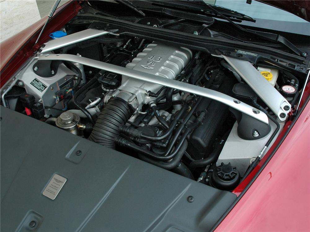 2008 ASTON MARTIN VANTAGE CONVERTIBLE - Engine - 138933