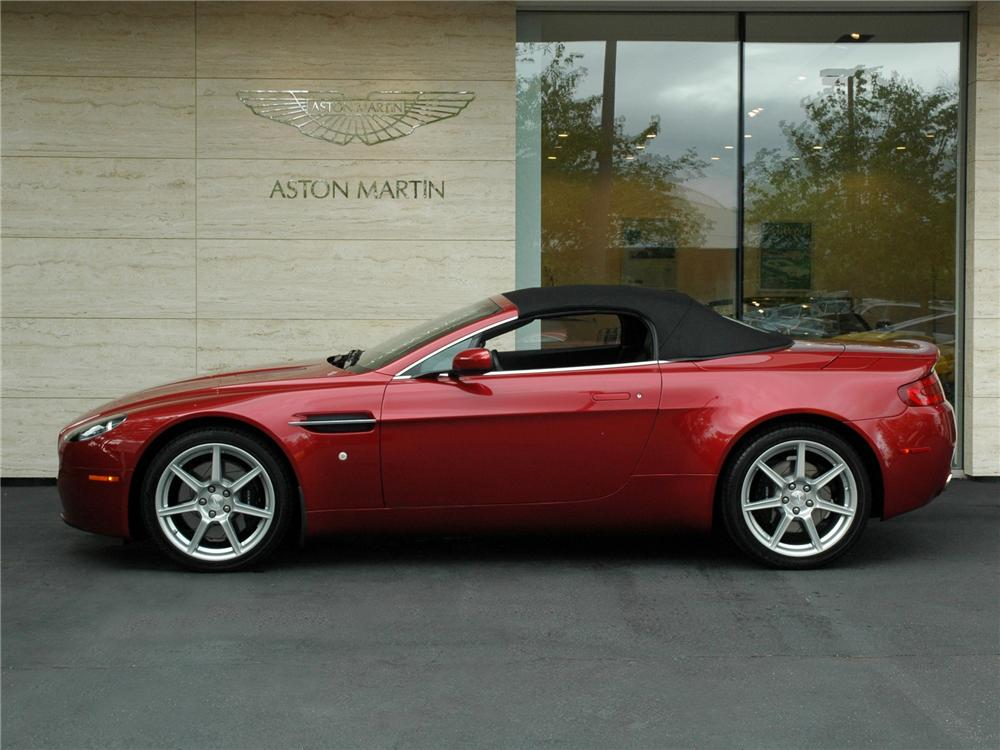 2008 aston martin vantage convertible 138933. Black Bedroom Furniture Sets. Home Design Ideas