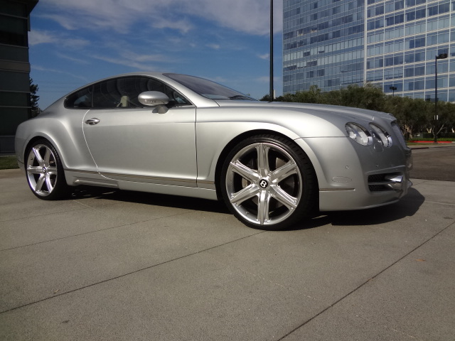 2004 BENTLEY CONTINENTAL GT 2 DOOR COUPE - Side Profile - 138939