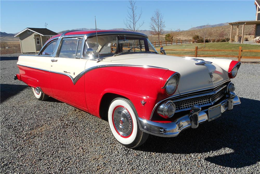 1955 ford fairlane 2 door hardtop 138952