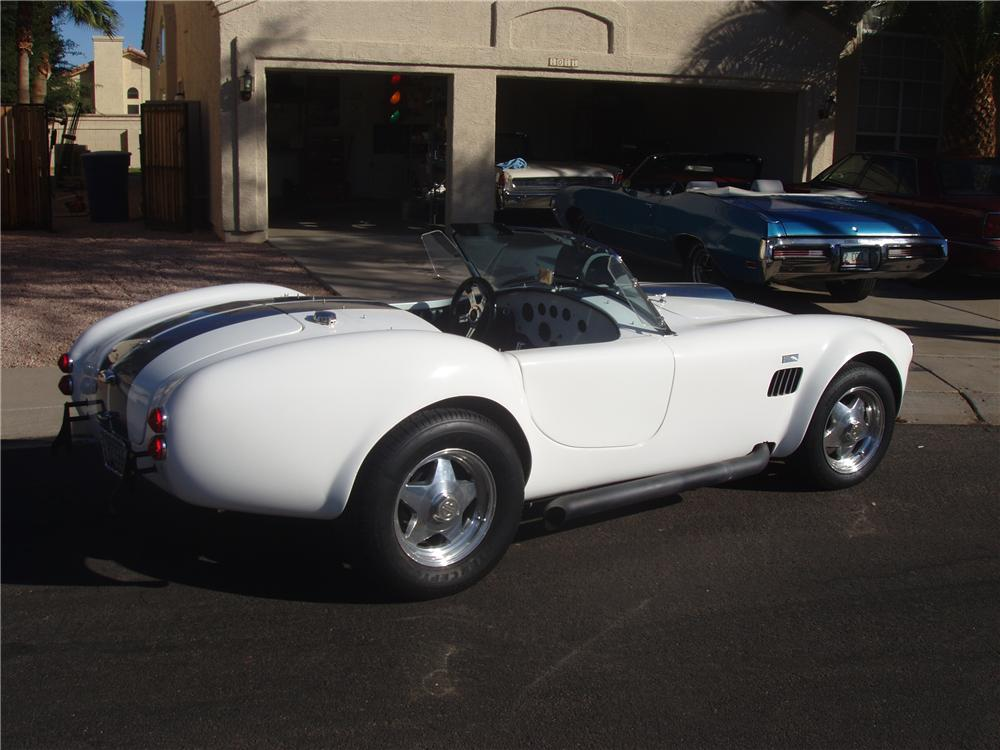 2006 FACTORY FIVE COBRA RE-CREATION ROADSTER - Rear 3/4 - 138955