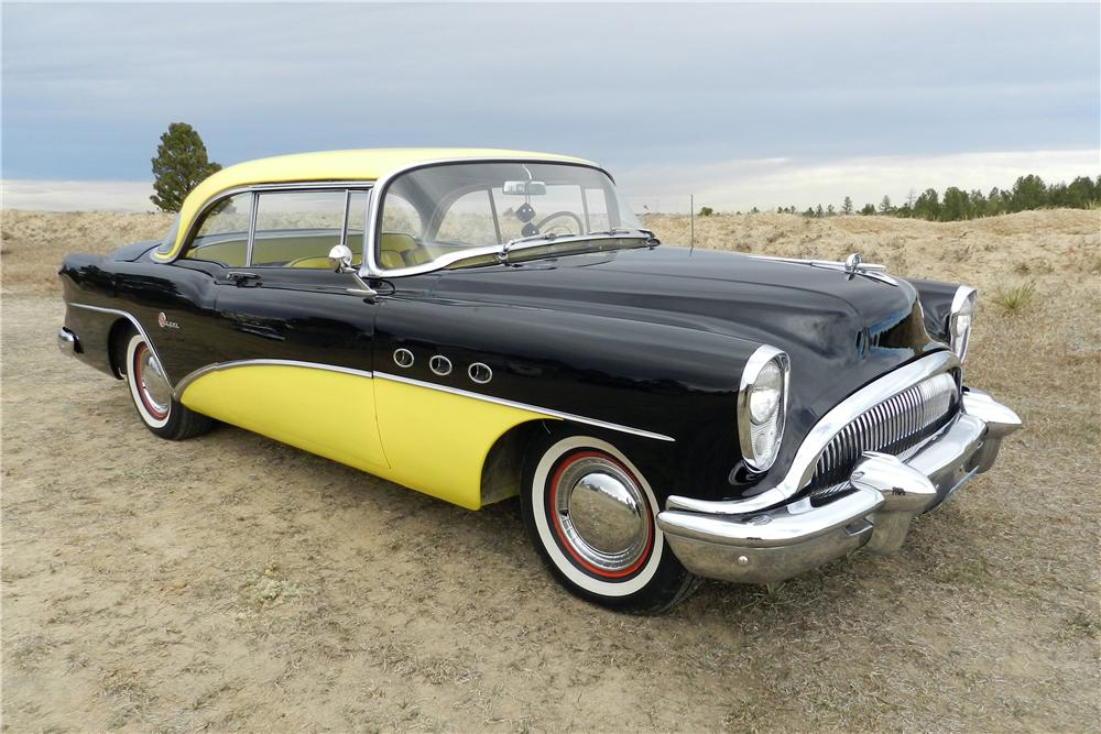 1954 BUICK SUPER RIVERA 2 DOOR HARDTOP - Front 3/4 - 138961