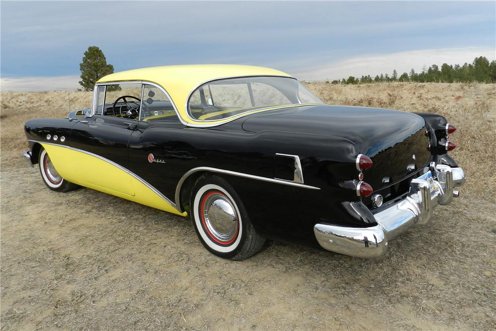1954 BUICK SUPER RIVERA 2 DOOR HARDTOP - Rear 3/4 - 138961