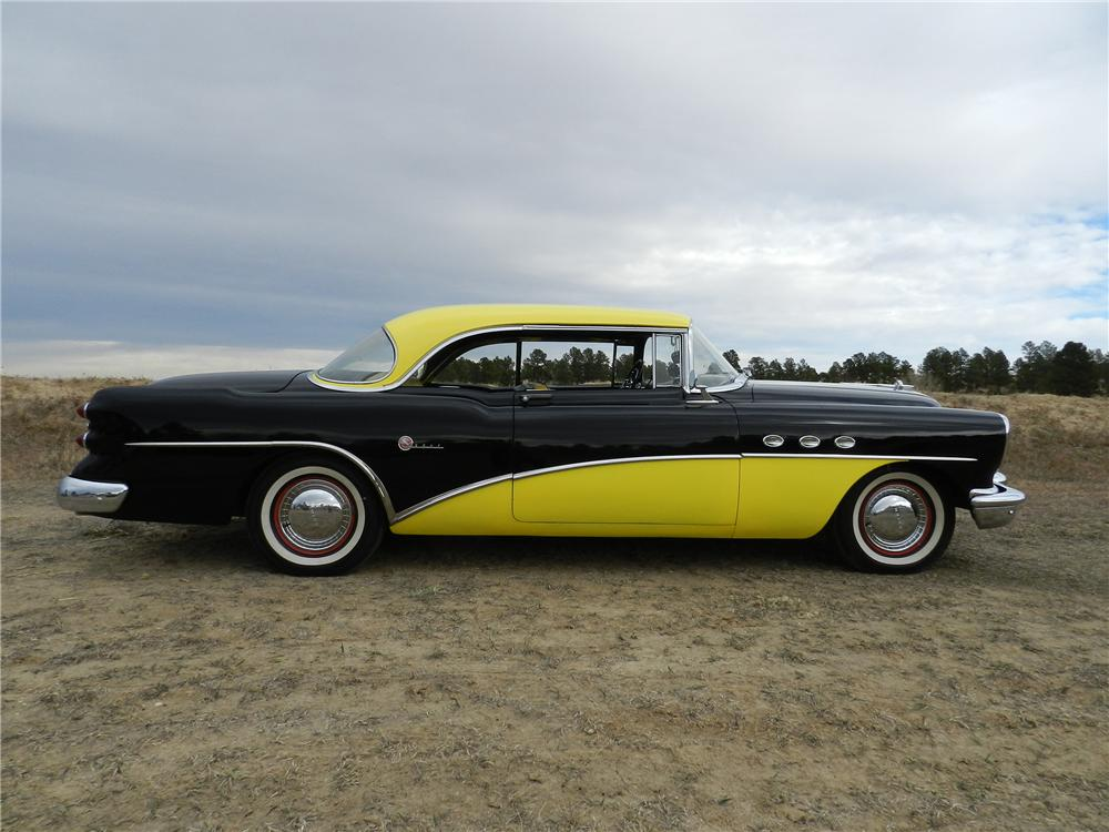1954 BUICK SUPER RIVERA 2 DOOR HARDTOP - Side Profile - 138961