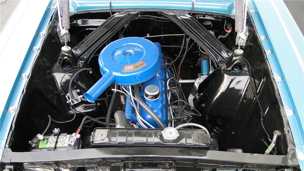 1963 FORD FALCON FUTURA CONVERTIBLE - Engine - 138965