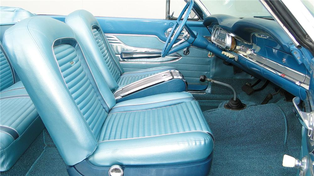 1963 FORD FALCON FUTURA CONVERTIBLE - Interior - 138965