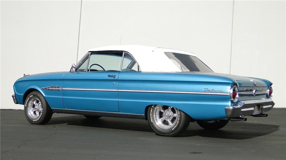 1963 FORD FALCON FUTURA CONVERTIBLE - Rear 3/4 - 138965