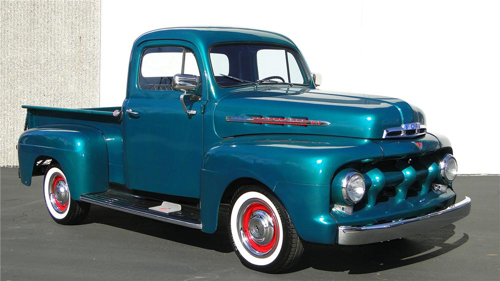 1951 FORD F-1 PICKUP - Front 3/4 - 138967