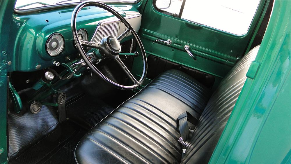 1951 FORD F-1 PICKUP - Interior - 138967