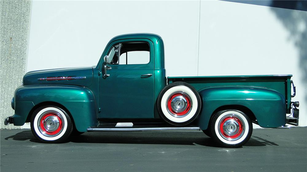 1951 FORD F-1 PICKUP - Side Profile - 138967