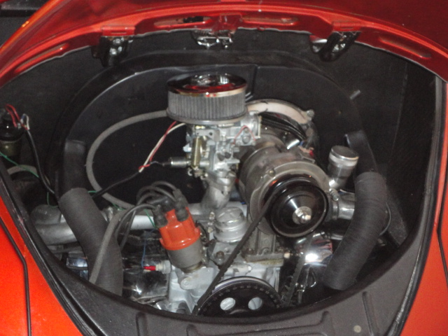 1958 VOLKSWAGEN BEETLE CUSTOM - Engine - 138968