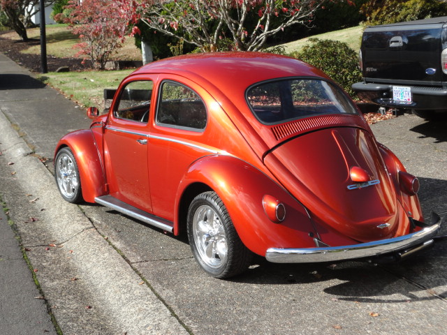 1958 VOLKSWAGEN BEETLE CUSTOM - Rear 3/4 - 138968