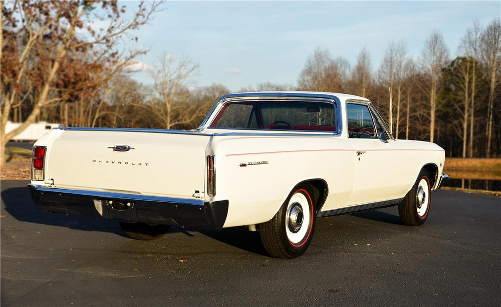 1966 CHEVROLET EL CAMINO PICKUP - Rear 3/4 - 138981