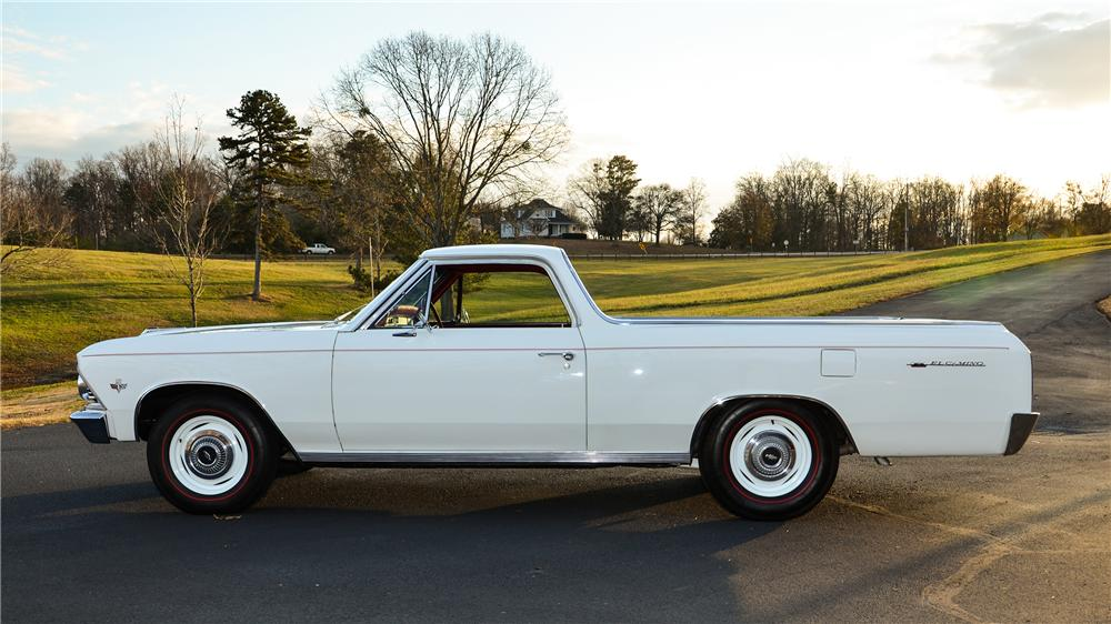1966 CHEVROLET EL CAMINO PICKUP - Side Profile - 138981