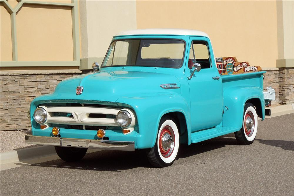 1953 FORD F-100 PICKUP - Front 3/4 - 138985