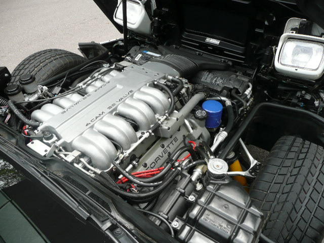 1991 CHEVROLET CORVETTE ZR1 COUPE - Engine - 138993