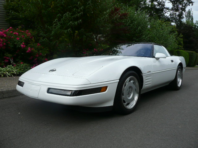1991 CHEVROLET CORVETTE ZR1 COUPE - Front 3/4 - 138993