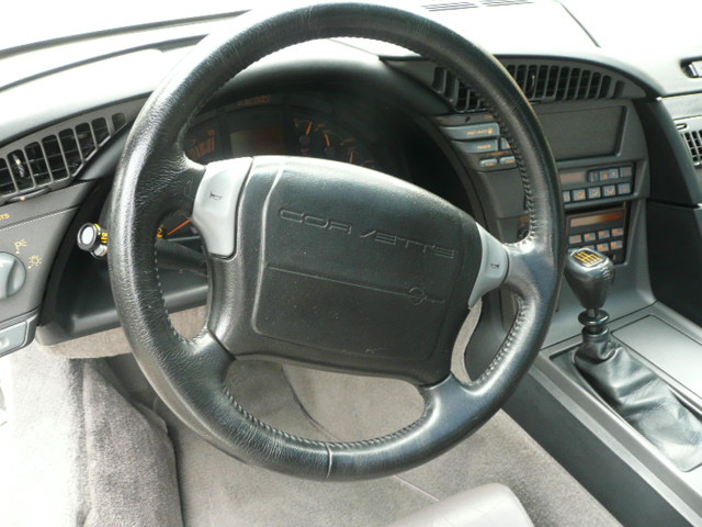 1991 CHEVROLET CORVETTE ZR1 COUPE - Interior - 138993