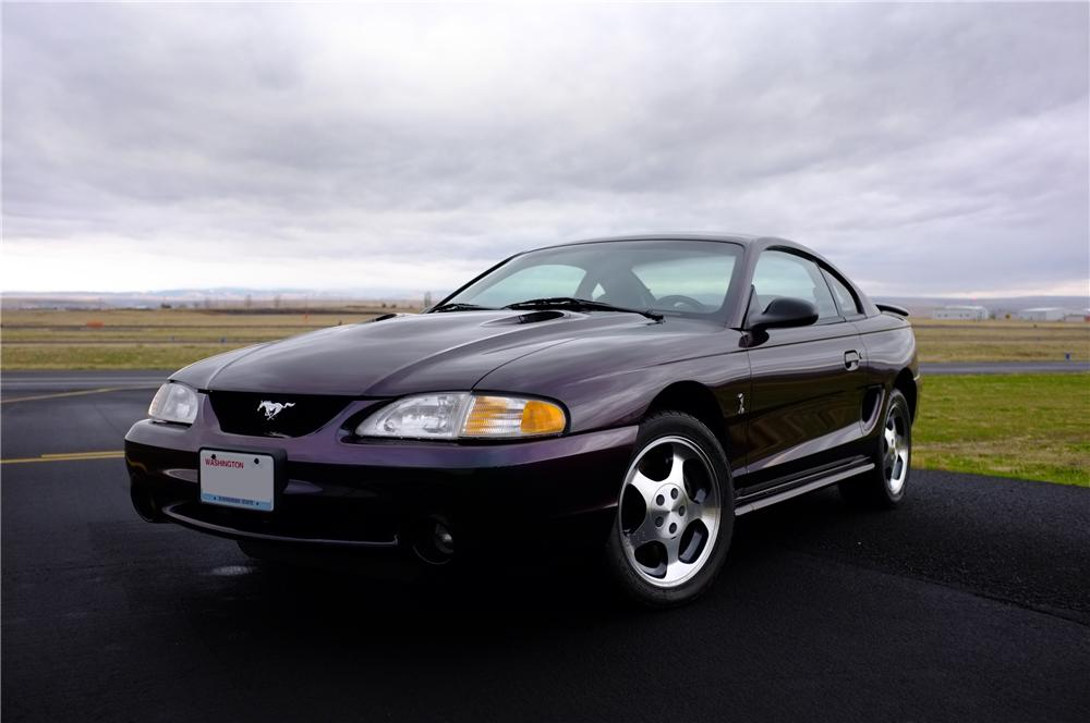 1996 FORD MUSTANG COBRA 2 DOOR COUPE - Front 3/4 - 139002