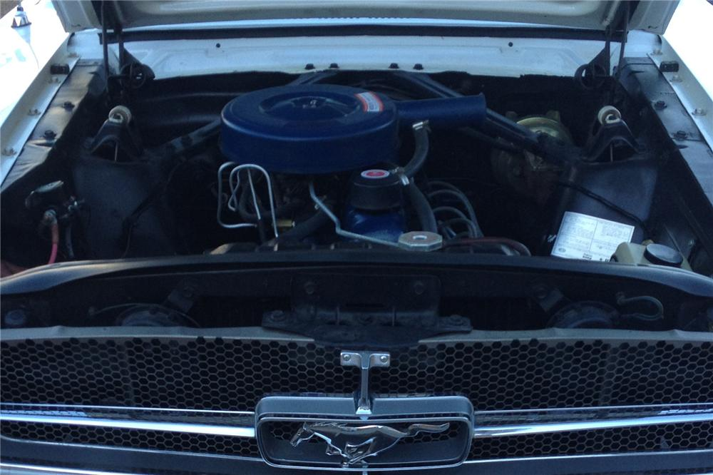 1965 FORD MUSTANG 2 DOOR COUPE - Engine - 139011