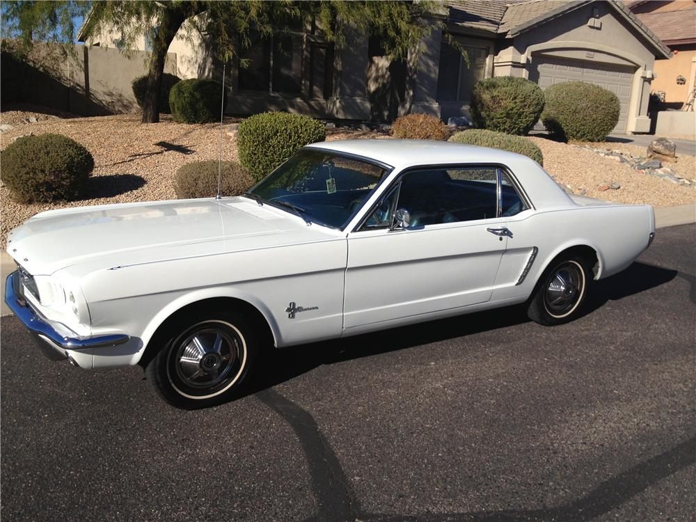 1965 FORD MUSTANG 2 DOOR COUPE - Front 3/4 - 139011