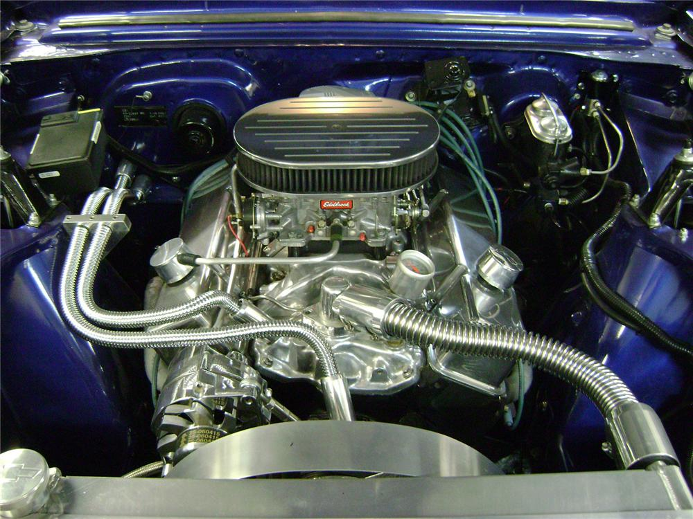 1967 CHEVROLET NOVA SS CUSTOM 2 DOOR COUPE - Engine - 139015