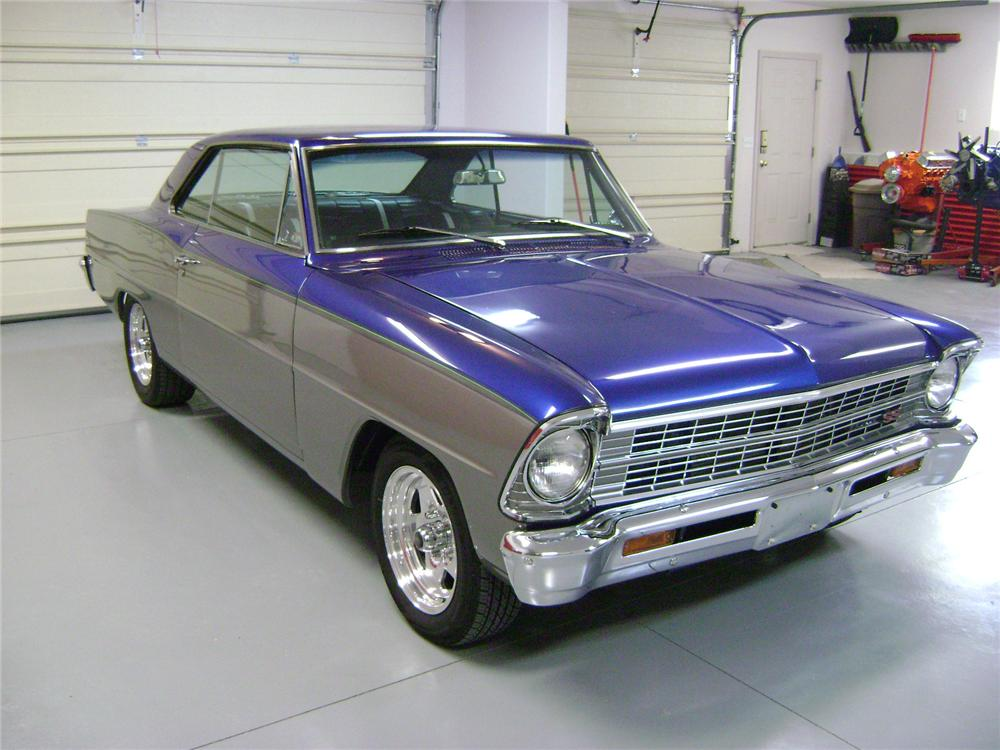1967 CHEVROLET NOVA SS CUSTOM 2 DOOR COUPE - Front 3/4 - 139015