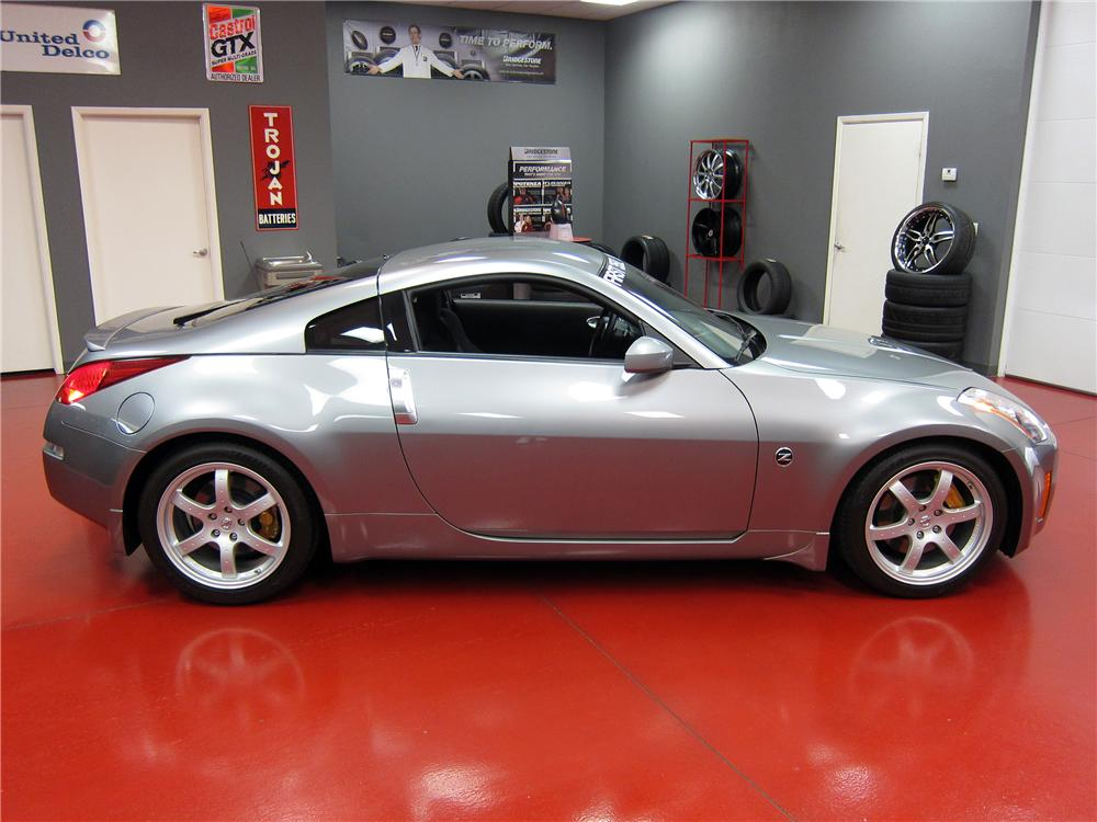 2003 Nissan 350z 2 Door Coupe Side Profile 139031
