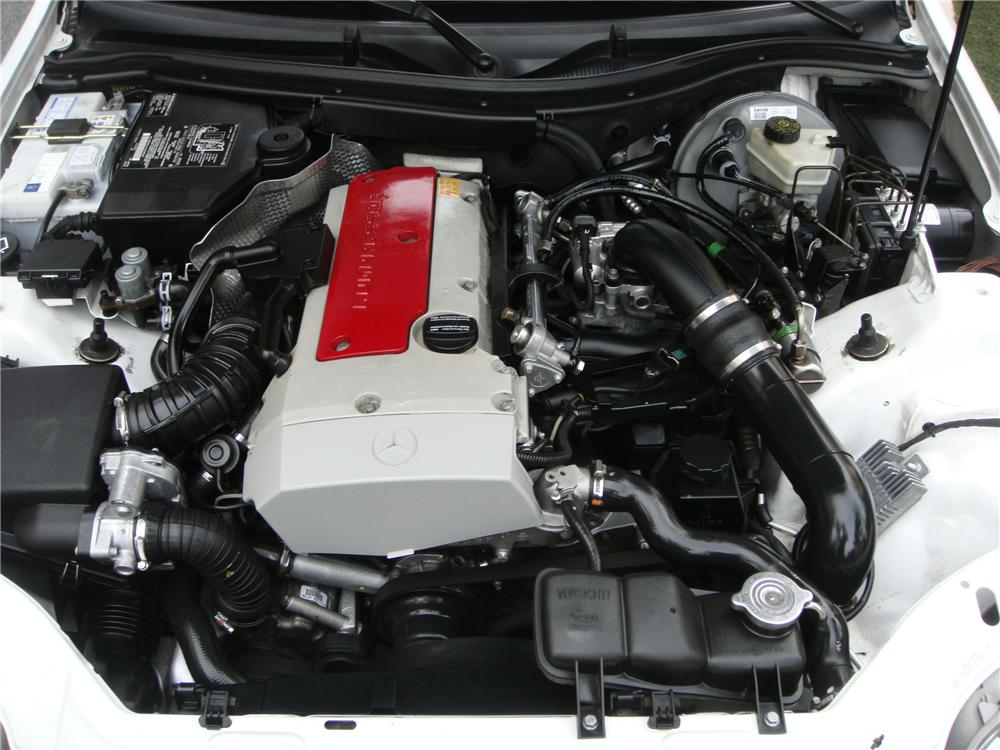 1999 MERCEDES-BENZ SLK230 CONVERTIBLE - Engine - 139033