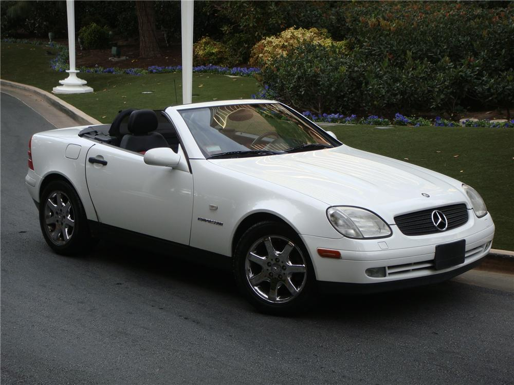 1999 mercedes benz slk230 convertible 139033 for Mercedes benz slk230 kompressor