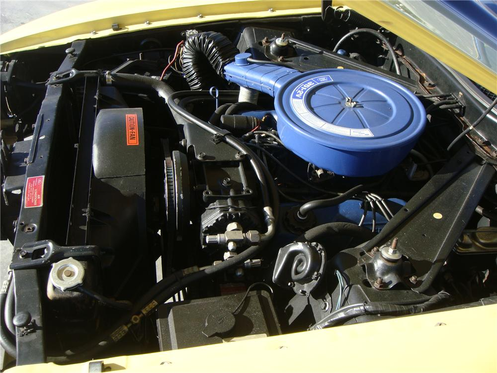 1973 FORD MUSTANG MACH 1 FASTBACK - Engine - 139038
