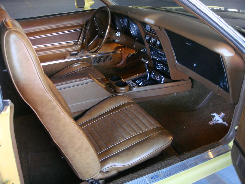 1973 FORD MUSTANG MACH 1 FASTBACK - Interior - 139038