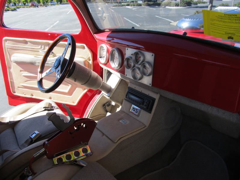 1941 WILLYS CUSTOM 2  DOOR COUPE - Interior - 139049