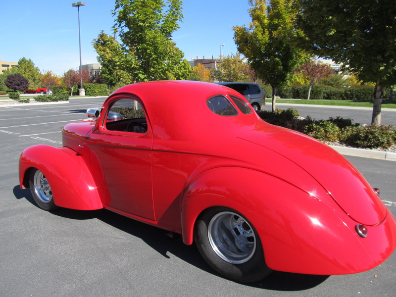 1941 WILLYS CUSTOM 2  DOOR COUPE - Rear 3/4 - 139049