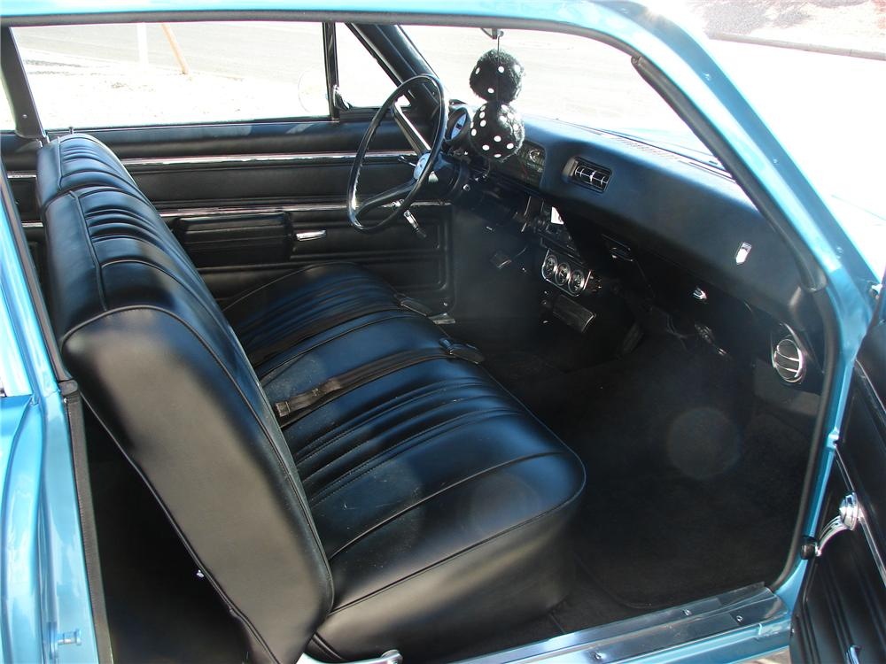 1968 CHEVROLET NOVA 2 DOOR - Interior - 139052
