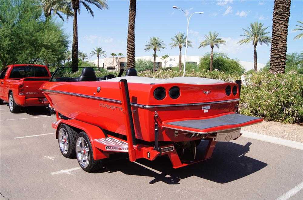 2008 EXTREME BOAT TRAILER - Rear 3/4 - 139054